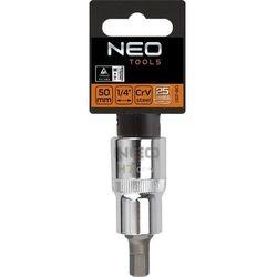 Końcówka na nasadce NEO 08-775 sześciokątna 1/2 cala H12 x 55 mm