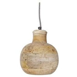 Be Pure Drewniana lampa CARVING PITCHER duża 800466