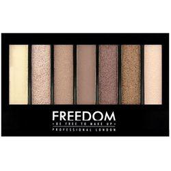FREEDOM PRO SHADE & BRIGHTEN Paleta do makijażu Stunning Rose Kit 1szt