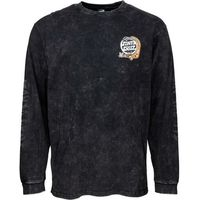 koszulka SANTA CRUZ - Digital Blk Magic Hand L/S Tee Black Acid Wash (BLACK ACID WASH)