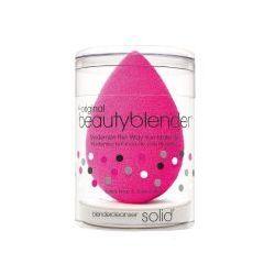 Beauty Blender, zestaw: gąbka do nakładania makijażu+mini mydełko Solid