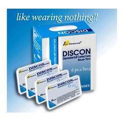 Soczewki Discon Blue Tint 6 sztuk