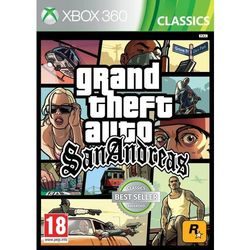 Grand Theft Auto San Andreas Remastered (Xbox 360)
