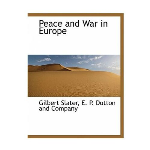 Peace and War in Europe