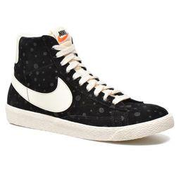 Tenisówki i trampki Nike Wmns Blazer Mid Suede Vintage Damskie Czarne 100 dni na zwrot lub wymianę