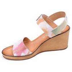 Sandały damskie Ryłko 6HH22X różnokolorowy-MT2