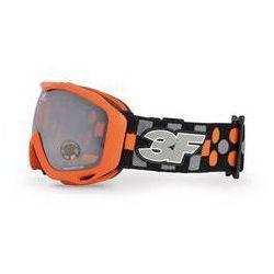 Gogle 3F Vision Spell 1398 dziecięce Pomarańczowe