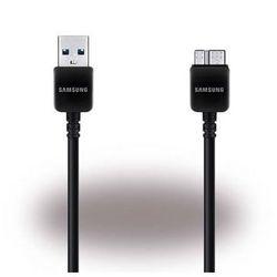 Oryginalny kabel Samsung ET-DQ11Y1BE Micro USB 3.0 (21 pin) - Czarny 1.5m - Galaxy S5, Galaxy Round, Galaxy Note, Galaxy Note 3