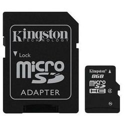 karta pamięci Kingston microSDHC 8GB + adapter SD