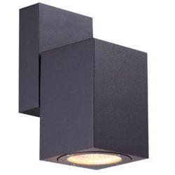 Zewnętrzna LAMPA ścienna ELDAR 34184 Globo ruchoma OPRAWA elewacyjna LED IP54 outdoor ciemnoszary