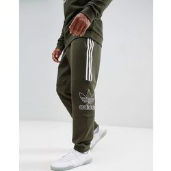 adidas Originals adibreak Popper Joggers In Green DH5749 Green