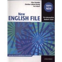 English File New Pre-Intermediate Podręcznik (opr. broszurowa)