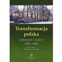 Transformacja polska. Dokumenty i analizy 1991-1993 (opr. twarda)