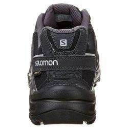 Salomon ESKAPE GTX Obuwie hikingowe black/asphalt/aluminium
