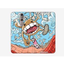 Flex Book Fantastic - ZTE Axon Mini - pokrowiec na telefon - potworek