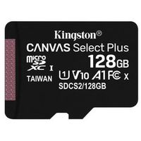 KINGSTON MicroSDXC 128GB 100MB/s SDCS2/128GBSP