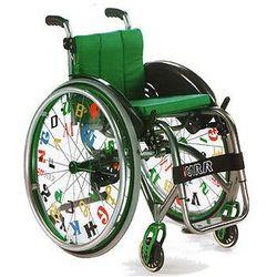 Wózek inwalidzki do aktywnej rehabilitacji Offcarr Quasar Kid