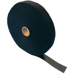 Taśma rzepowa Do wiązania element z pętelkami i haczykami (DxS) 25000 mm x 75 mm Czarny Fastech ETN FAST-Strap 75 MM 25 m
