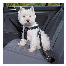 Szelki samochodowe dla psa ze smyczą