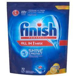 FINISH 72szt Powerball All in 1 Max Shine&Protect Lemon Tabletki d