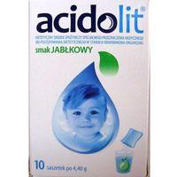 Acidolit sm.jabłkowy pr.do p.rozt.doust. - 10 sasz.a 4,4g