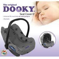 Pokrowiec do fotelika Dooky Seat Cover Grey Stars