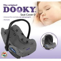 Pokrowiec do fotelika Dooky Seat Cover Grey Stars