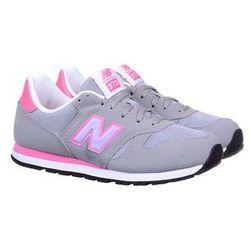 Buty sportowe New Balance KJ373FLY Grey/Pink