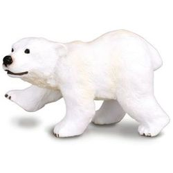 CollectA Dzikie zwierzęta Arktyki Młody niedźwiedź polarny stojący