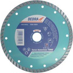 Tarcza do cięcia DEDRA H1101 125 x 22.2 diamentowa turbo