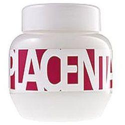 Kallos Placenta Hair Mask 800ml W Maska do włosów suchych i zniszczonych