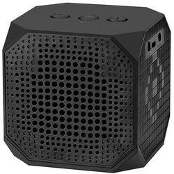 Qoltec Przenośny głośnik Bluetooth z mikrofonem, Czarny