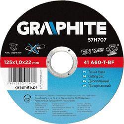 Tarcza do cięcia GRAPHITE 57H708 125 x 2.5 x 22.2 mm do metalu