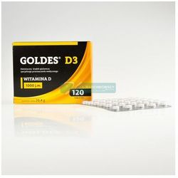 Goldes D3 1000 j.m. 120 tabletek