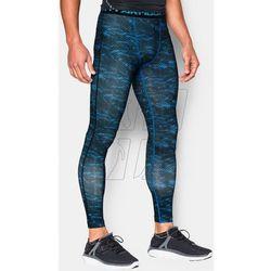 Spodnie kompresyjne Under Armour HeatGear® Armour Printed Compression Leggings M 1258897-428