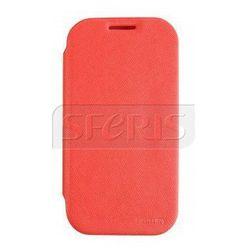 GOOSPERY etui ochronne fancy flip do S4 mini czerwony - FF-S4m-R