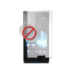 PURO Folia anti-finger na ekran - Sony Xperia J