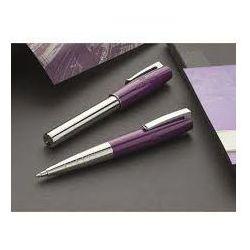 Pióro kulkowe i długopis Faber-Castell Loom Piano śliwa