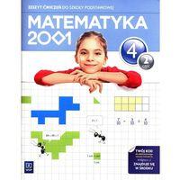 Matematyka 2001. Klasa 4. Zeszyt ćwiczeń. Część 2 (opr. miękka)