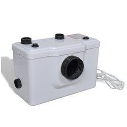 Pompa WC, biała (600W). Zapisz się do naszego Newslettera i odbierz voucher 20 PLN na zakupy w VidaXL!
