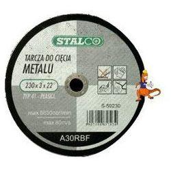 TARCZA DO CIĘCIA METALU PŁASKA 125x2, 5x22MM FIRMA STALCO (S-59125)