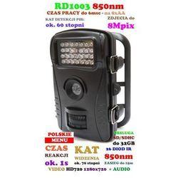 Kamera (Foto-Pułapka) HD, Dzienno-Nocna + Dźwięk + Zapis + Detekcja Ruchu + Ekran LCD itd.