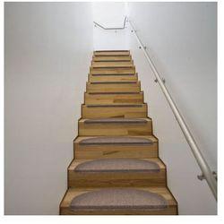 Dywaniki na schody 64,5 x 25,5 cm Brąz x15 Zapisz się do naszego Newslettera i odbierz voucher 20 PLN na zakupy w VidaXL!