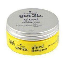 SCHWARZKOPF Got2b Glued Spiking Gum bardzo mocno utrwalajaca guma do wlosow Force 6 75ml
