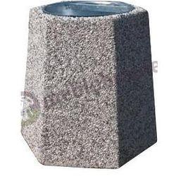 Kosz betonowy na śmieci B2