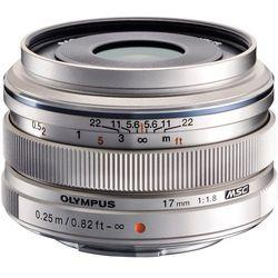 Obiektyw OLYMPUS EW-M1718 Srebrny