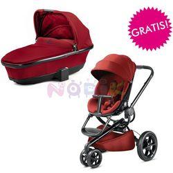 Wózek wielofunkcyjny 2w1 Moodd + GRATIS Quinny (Red Rumour)