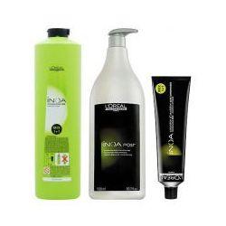 LOREAL INOA, Zestaw: farba + oxydant + szampon 6,40