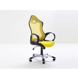Krzeslo biurowe - krzeslo obrotowe - iChair zólty