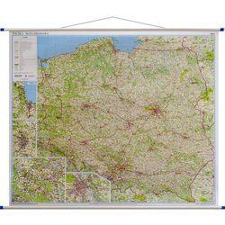 Mapa ścienna Polska-drogowa 1:700tys.